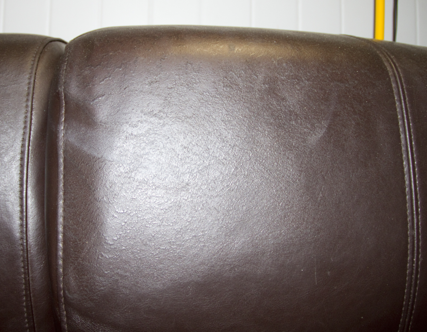 Bicast Leather Water Damaged Finishes Stretched