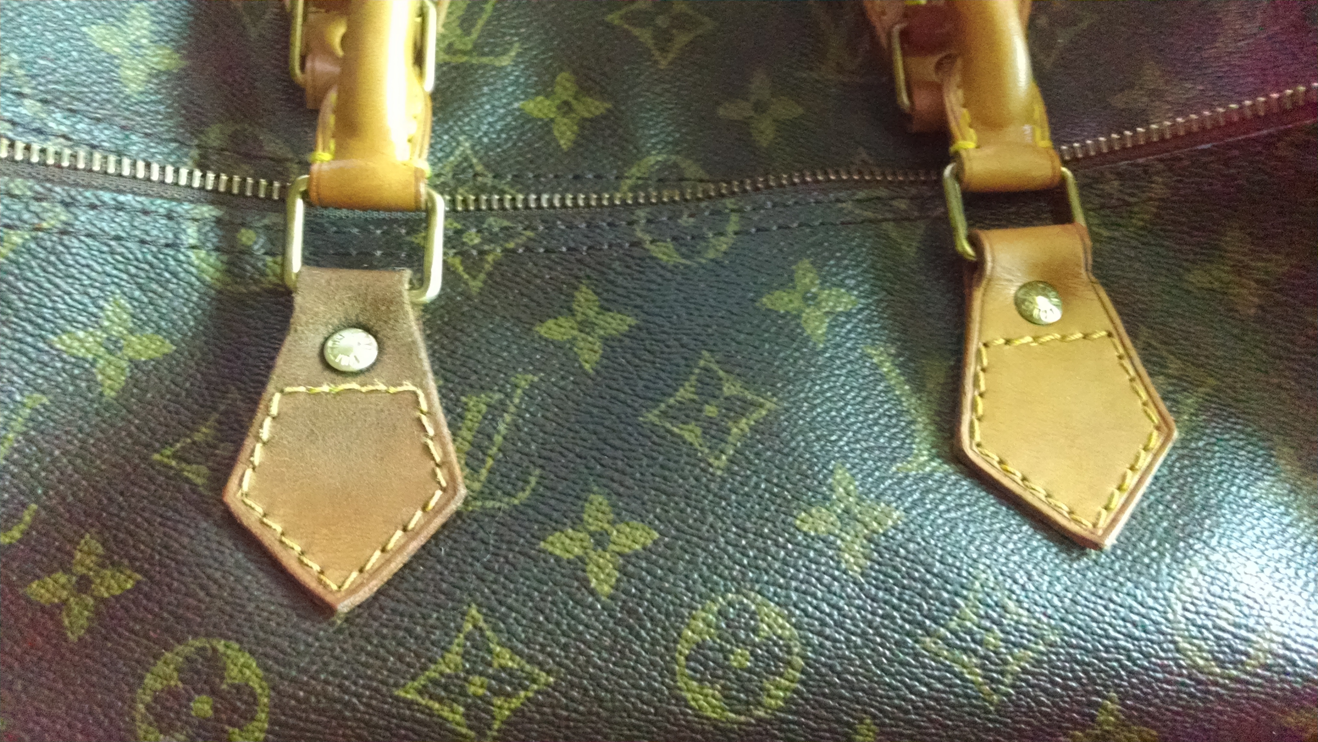 Louis Vuitton - Repair Surface Damaged Louis Vachetta leather from ... 8eec3027a1