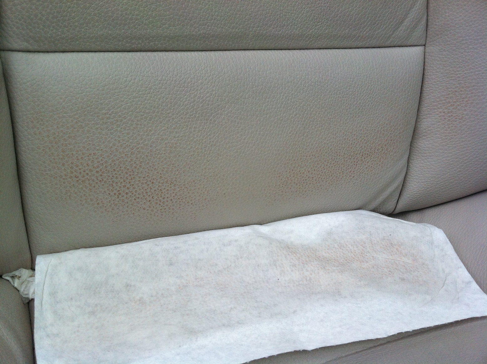 2013 bmw ivory white leather seats a 2 or 3 months