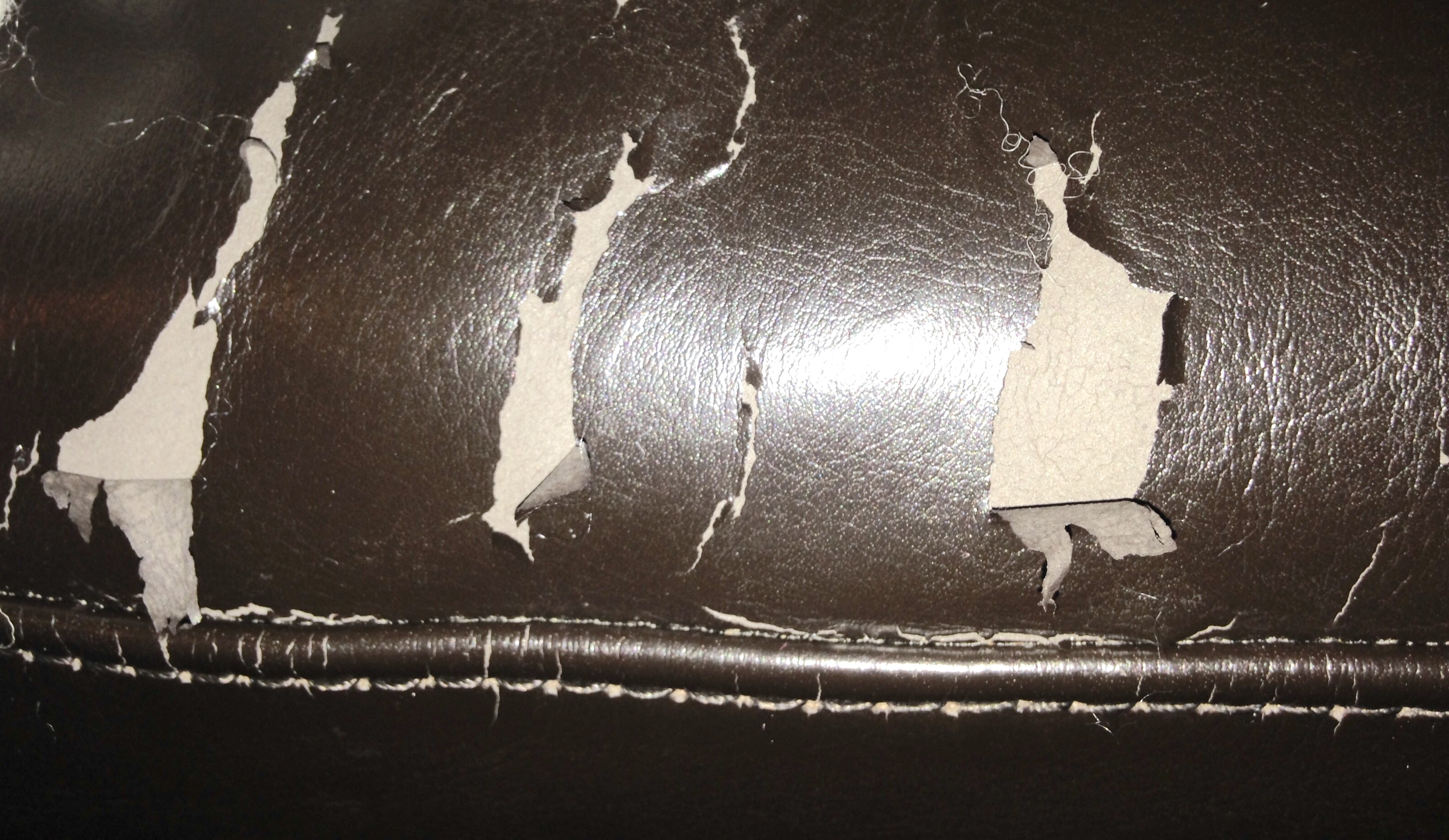 thread what products do i use to repair peeling bicast leather sofa - Leather Sofa Repair