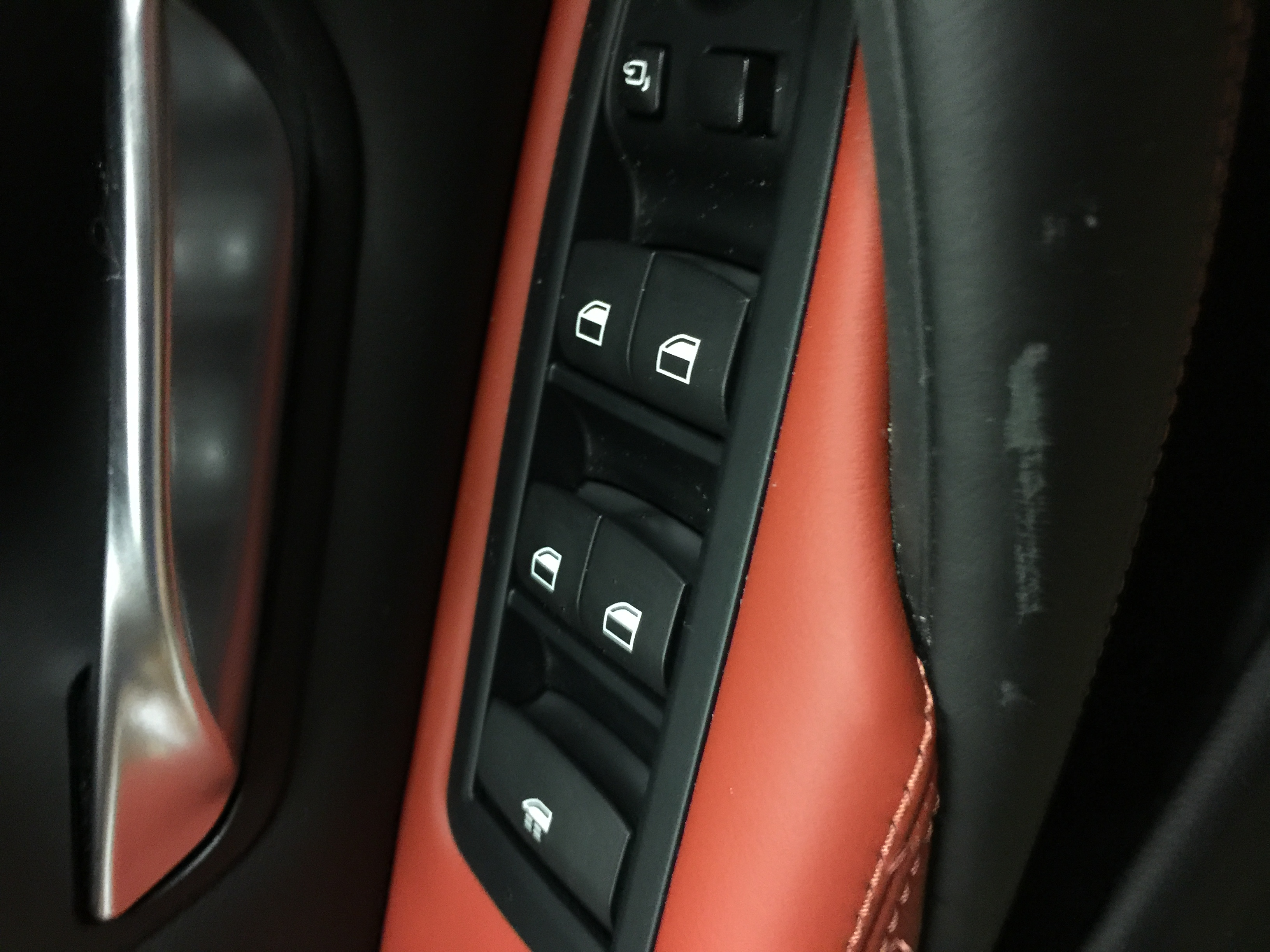 2016 Bmw M4 With Sakhir Orange And Black Full Merino Leather