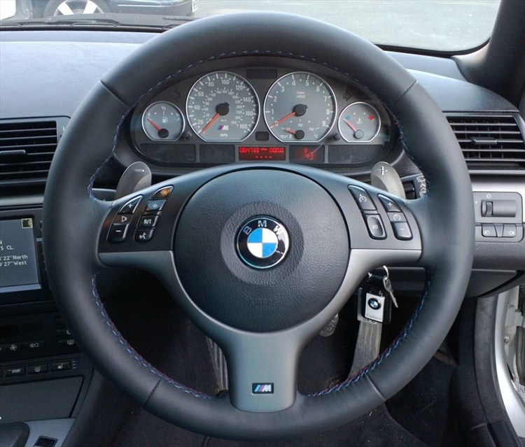 Bmw E46 M3 Black Interior Rejuvenation To Oem Matte Finish