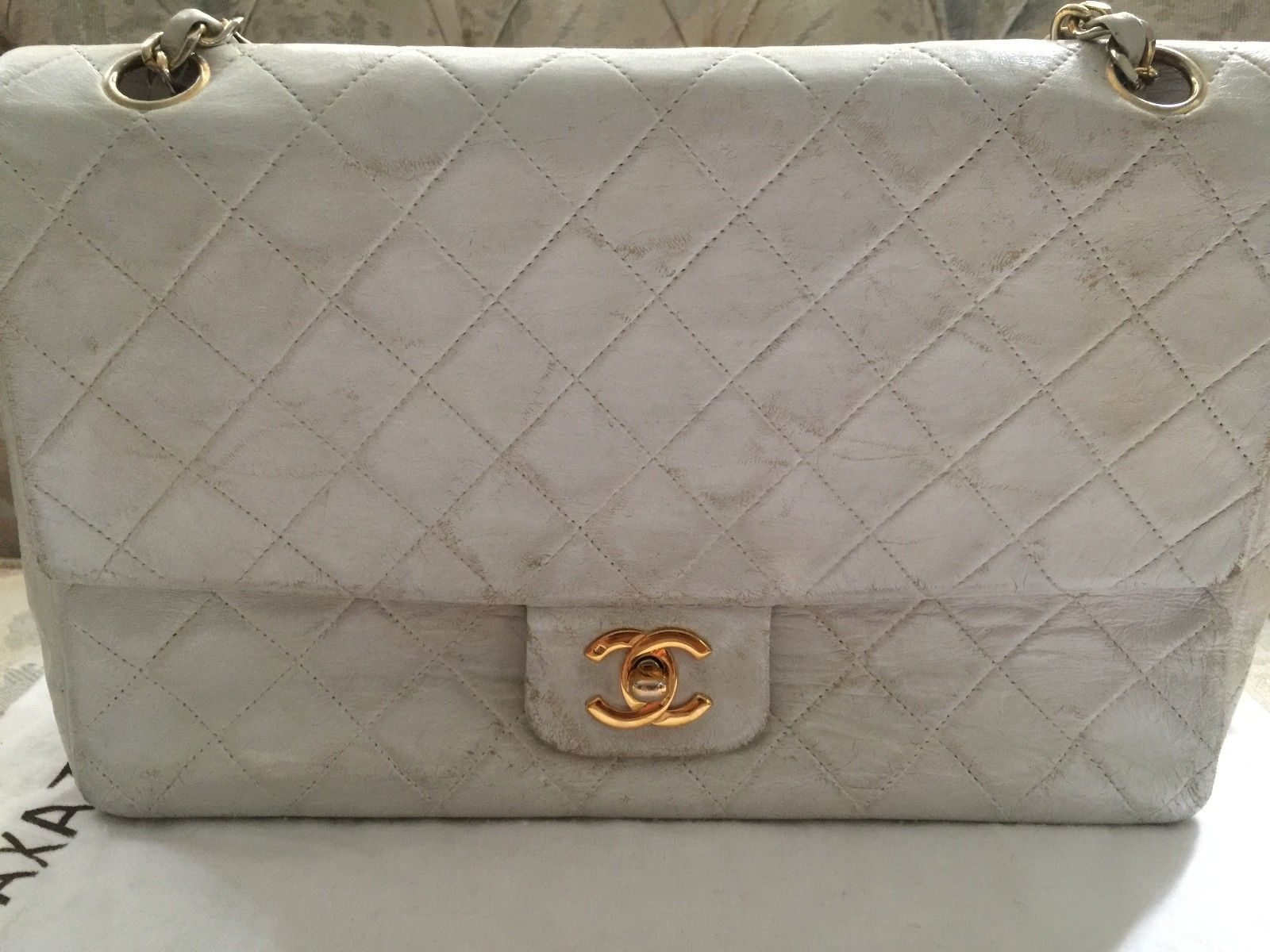 e4a7348b074a33 want to dye vintage CHANEL from white to red. Name: s-l1600.jpg Views: 171  Size: 226.1 KB