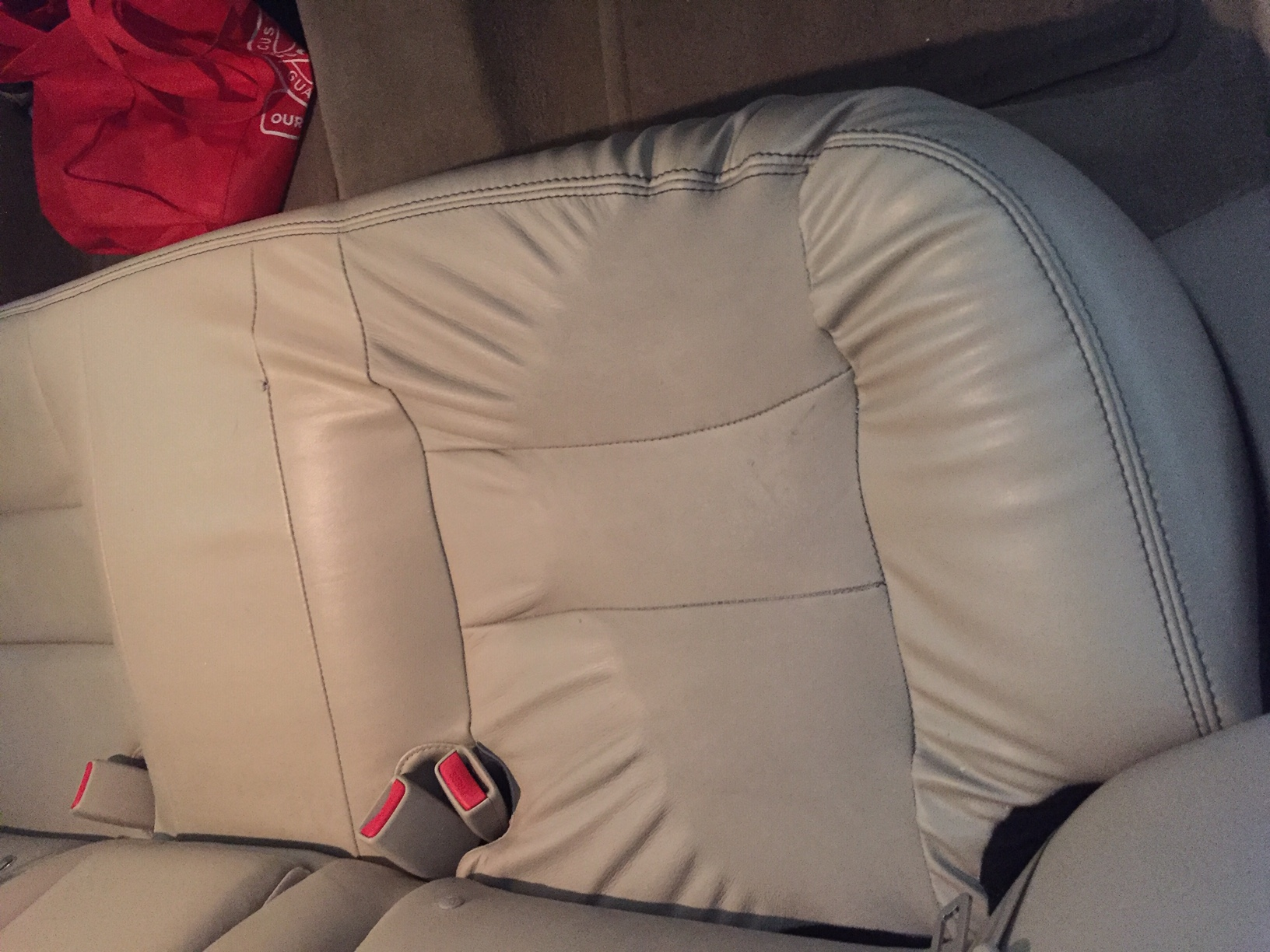 Best Car Cleaning Products >> 2010 Ford Fusion - water damaged leather seats.