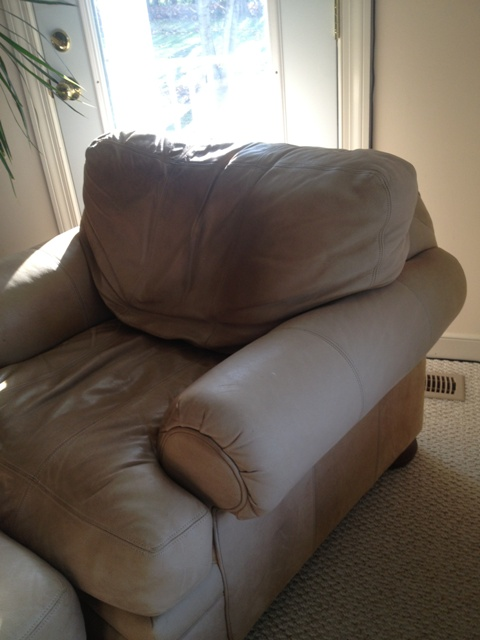 Nubuck Sofa And Loveseat Removing Body Oil Stains